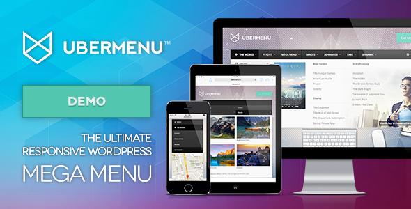 UberMenu v3.2.0.1 - WordPress Mega Menu Plugin