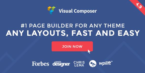Visual Composer v4.9 Page Builder for WordPress
