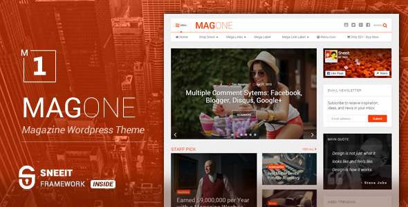 MagOne Preview Banner. large preview