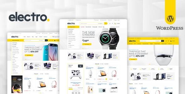 Electro Electronics Store WooCommerce Theme