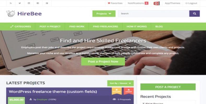 Hireo – Job Board & Freelance Services Marketplace HTML