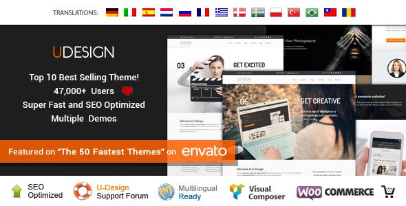 uDesign v2.12.0 Responsive WordPress Theme
