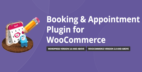 Booking & Appointment v3.5.2 WooCommerce