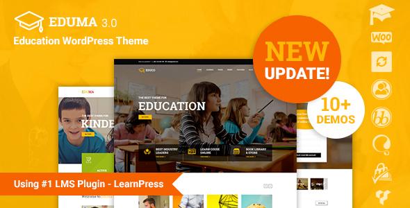 Eduma v3.0.8 - Education WordPress Theme
