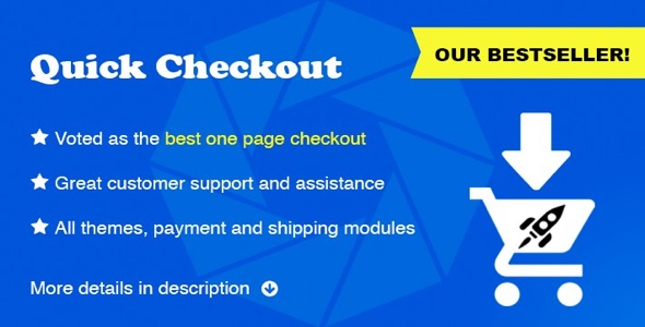 Quick Checkout Best One Page Checkout Solution 1