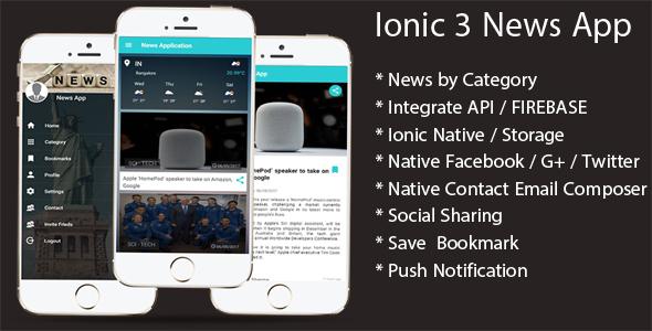 Deco News – Ionic 4 Mobile App for WordPress, Angular 7