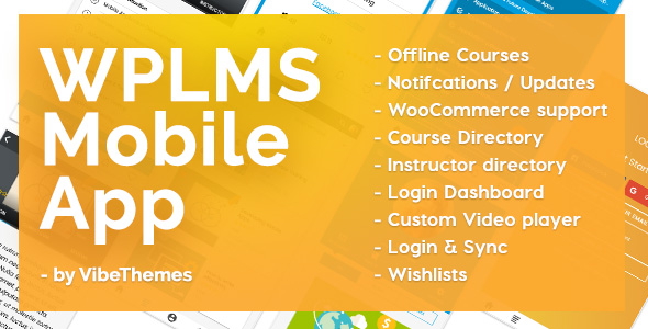 WPLMS Learning Management System App
