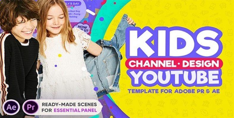 Kids YouTube Channel Design 1
