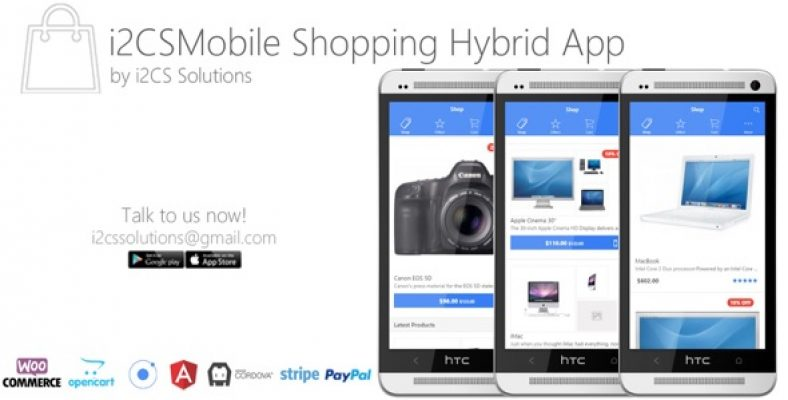 Ionic Opencart Mobile App Template 1