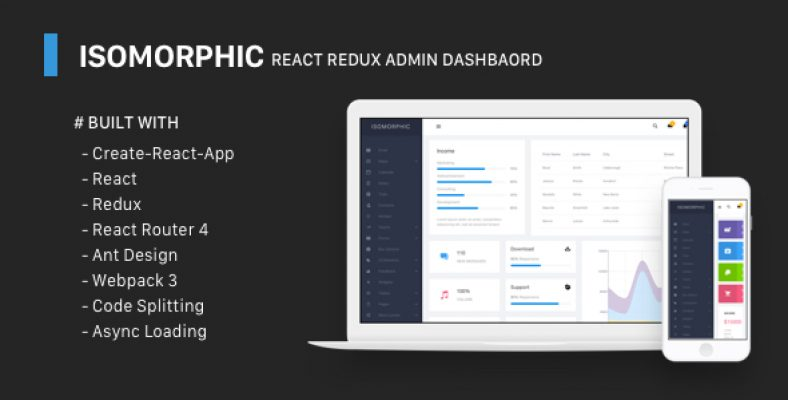 Wieldy v1 5 React Admin Template Ant Design and Redux – CodeGood