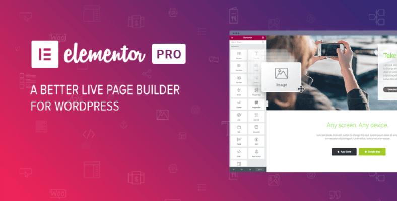 Elementor Pro 2.0.2 – The Most Advanced WordPress Page Builder Plugin