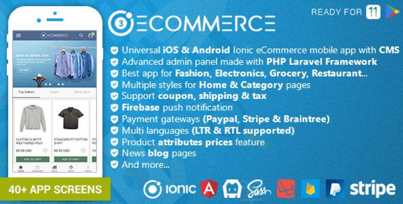 Laravel Ecommerce v1 5 Universal Ecommerce/Store Full Website with