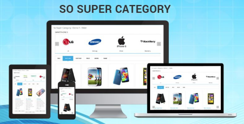 So Super Category Responsive OpenCart Module