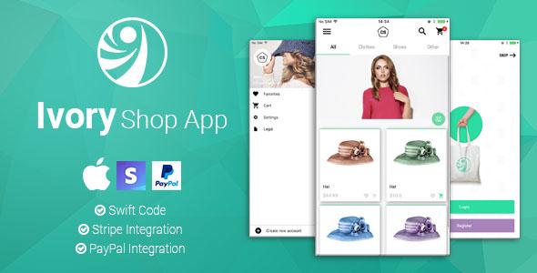 Ivory Shop - iOS eCommerce App