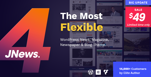 JNews - WordPress Newspaper Magazine