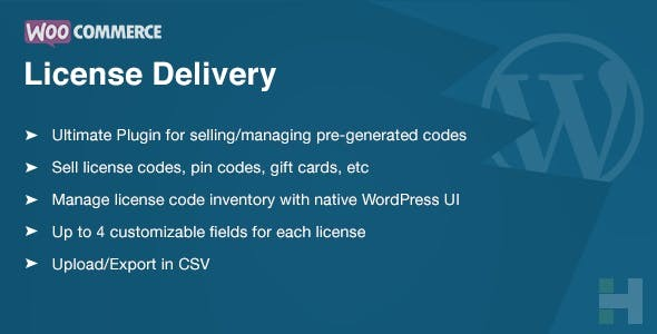 WooCommerce License Delivery & Management