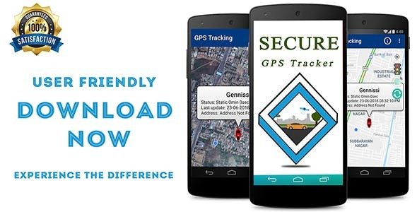 Secure GPS Tracker using Traccar