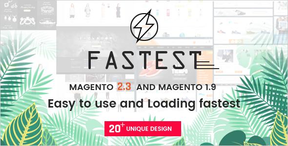 Fastest Magento 2 themes Magento 1. Multipurpose Responsive Theme 20 Home ShoppingFashion