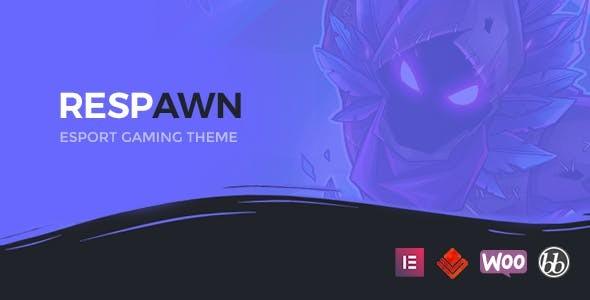 Respawn - Esports Gaming WordPress Theme