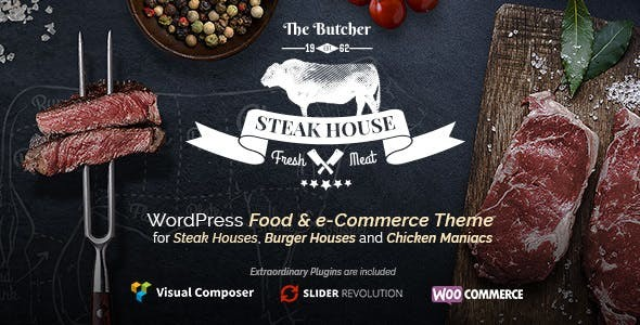 The Butcher - WordPress Food Theme for Meat Restaurants