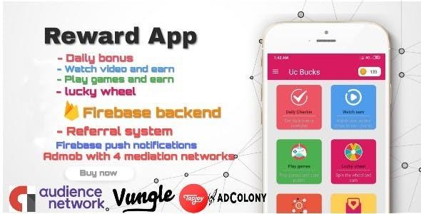 Android reward app - UC bucks Earn money & gift cards