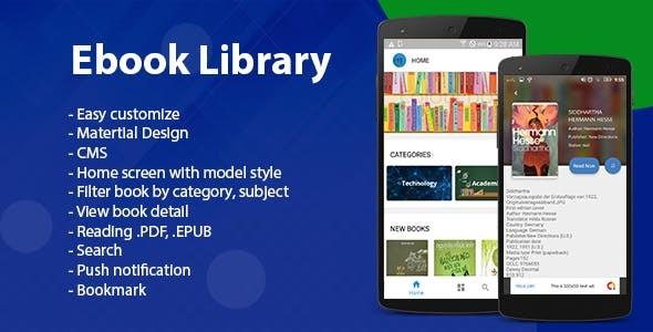 Ebook App Source Code