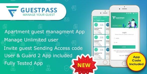 GuestPass - Apartment Guest Managment App