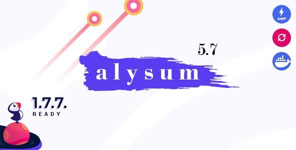 Alysum Premium Prestashop AMP Theme 1 1