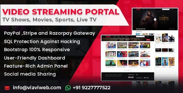 Video Streaming Portal