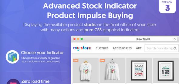 Advanced Stock Indicator Product Impulse Buying Module