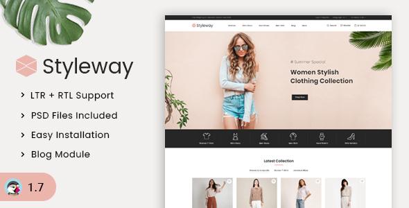 Styleway Trendy Online Fashion Prestashop 1.7 Responsive Theme