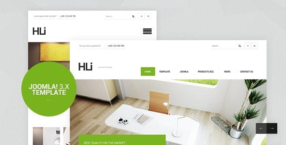 HLI Responsive CorporateBusiness Joomla 3.9 Template