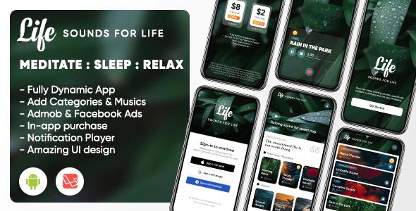Life Sleep Sounds Meditation Sounds Relax Music App