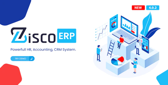 ZiscoERP Powerful HR Accounting CRM System