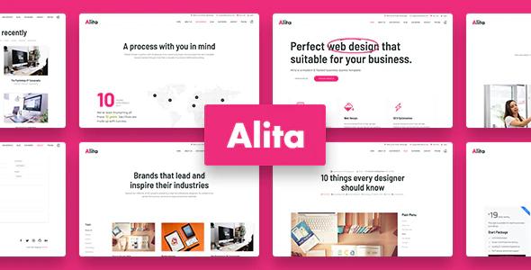 Alita Web Studio Joomla Template
