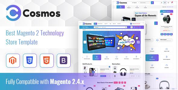 Cosmos Hitech Store Magento 2 Theme