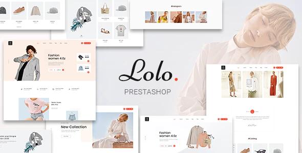 Lolo Minimalist Fashion PrestaShop 1.7 Theme