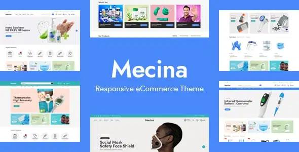 Mecina Medical Healthcare OpenCart Theme