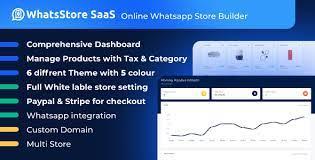 WhatsStore SaaS Online WhatsApp Store Builder