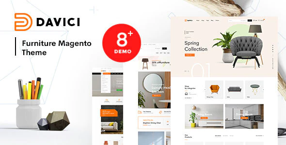 Davici Ultimate Magento 2 Theme RTL Supported