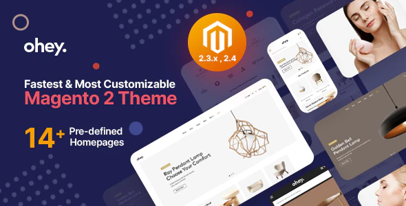 Ohey Multipurpose Sections Magento 2 Theme