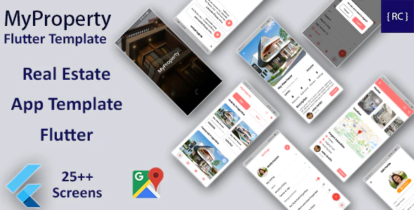 Real Estate Android App Real Estate iOS App Template React Native MyProperty
