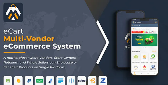 eCart Multi Vendor eCommerce System