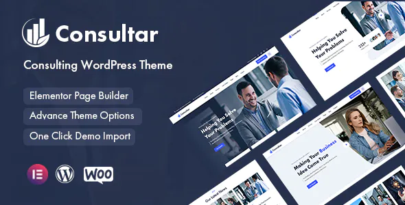 Consultar Consulting Business WordPress Theme