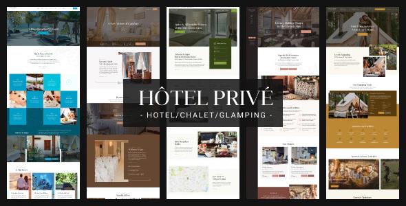HotelPrive Resort HTML Template