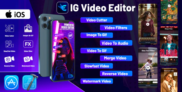IG Video Editor iOS Source Code