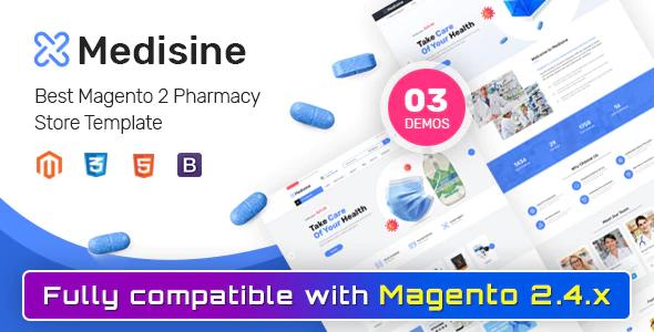 Medisine Drug and Medical Store Magento 2 Theme