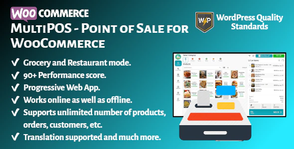 MultiPOS Point of Sale POS for WooCommerce