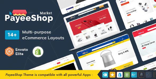 PayeeShop Shopify Multi Purpose Responsive Theme