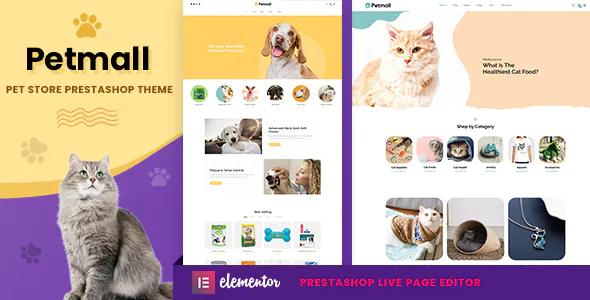 Petmall Pet Shop Animal Store Prestashop 1.7 Theme